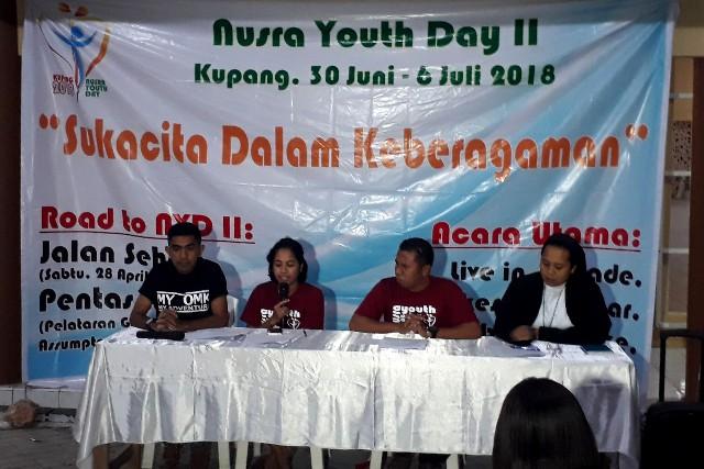 Pertemuan Orang Muda Katolik (OMK) dalam Nusra Youth Day II 2018 – Sukacita Dalam Keberagaman