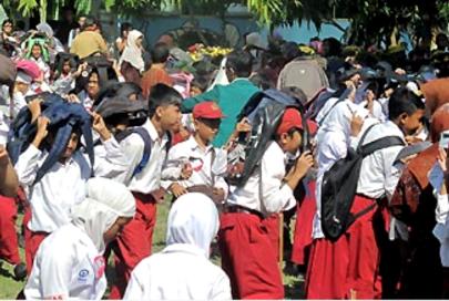 PMPB NTT: Advokasi Kebijakan Sekolah /Madrasah Aman Bencana