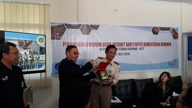 Balai Karantina Pertanian Kelas I Kupang Peroleh Bantuan 7 Titik Akses Internet BAKTI