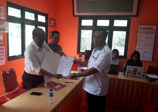 20 Balon DPD Resmi Mendaftarkan Diri di KPU NTT