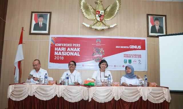 """Anak """"GENIUS"""" Siap Meriahkan Hari Anak Nasional 23 Juli 2018"""