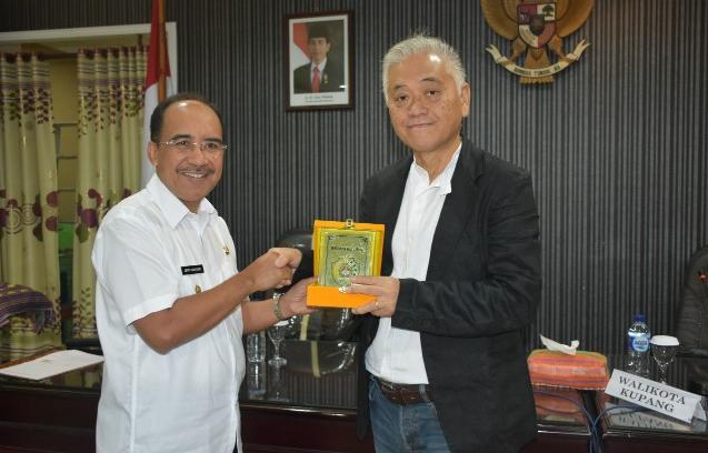 Pemkot Kupang Teken MoU dengan Nippon Koei Co Menuju Kupang Smart City