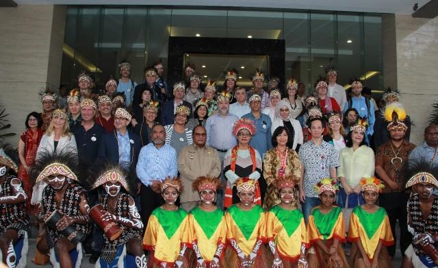 'Diplomatic Tour 2018 – Amati Pembangunan Perempuan dan Anak di Papua