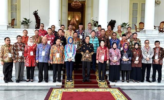 Asosiasi Pemerintah Kota Seluruh Indonesia (APEKSI) Dialog Bersama Presiden Jokowi