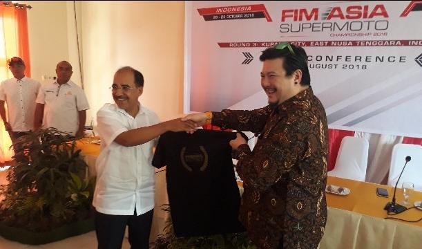 Ini Alasannya; FIM Asia SuperMoto Pilih Kota Kupang