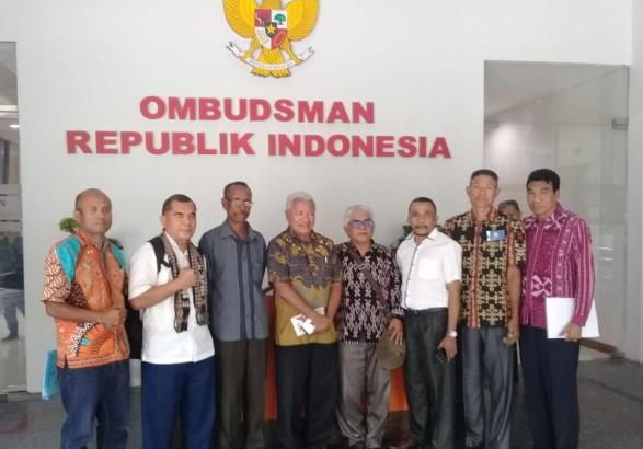 Bupati Kupang Resmi Melapor PT PGGS & PT PKGD ke Komnas HAM dan Ombusdman RI