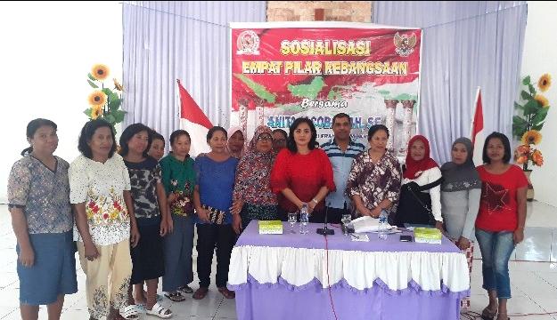 Anita Gah Konsisten Sosialisai Empat Pilar Kebangsaan