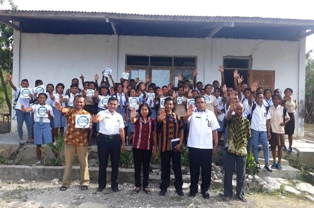 Pemda Kab Kupang & BNNP Edukasi Bahaya Narkoba bagi Siswa SMAN 3 Persiapan