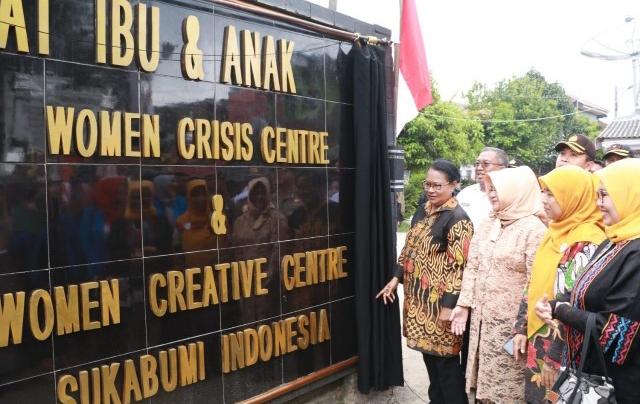 Rumah Sahabat Perempuan dan Anak Pertama di Indonesia Ada di Sukabumi