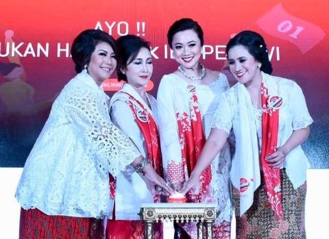 Deklarasi Perempuan Tangguh Pilih Jokowi; Ketua DPR RI Apresiasi