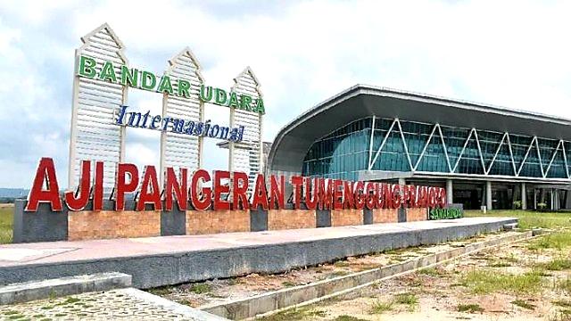 Perdana; Bandara APT Samarinda Resmi Layani 4 Rute Penerbangan