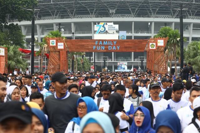 HLN 2018 – Menteri Rini Himbau PLN Jadikan Indonesia Terang Benderang
