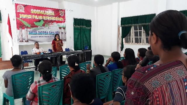 Anita Gah Edukasi Persatuan & Kesatuan dengan Empat Pilar Kebangsaan