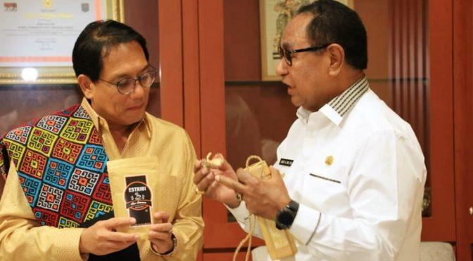 Bertemu Wagub NTT Josef Nae Soi, Dubes Thailand Jajak Kerja Sama