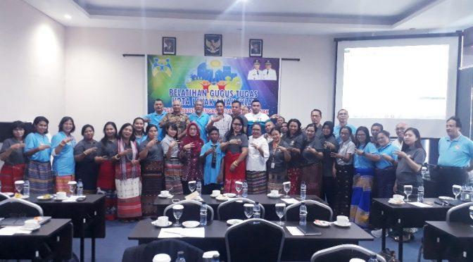 NTT Provinsi Layak Anak? — DP3A Inisiasi Pelatihan Gugus Tugas KLA