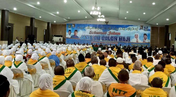 Lepas 301 Jemaah Calon Haji di Embarkasi, Ini Pesan Wali Kota Kupang