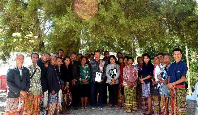 Pedis Oesapa Helat Kunjungan Jemaat Desa di Kabupaten Timor Tengah Selatan
