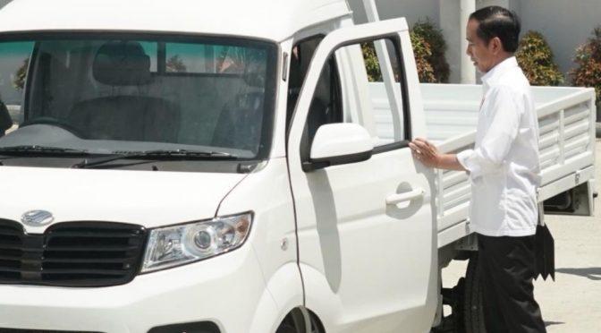 Resmikan Pabrik Esemka, Presiden Jokowi Dukung Industri Otomotif Lokal