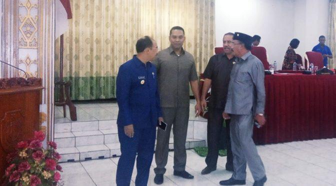 Yeskial Loudoe Resmi Pimpin DPRD Kota Kupang Periode 2019—2024