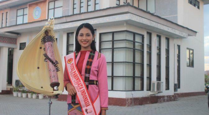 'Got Top 5 Best Talent' Ayo Vote! Clarita Salem Jadi Putri Pariwisata Indonesia