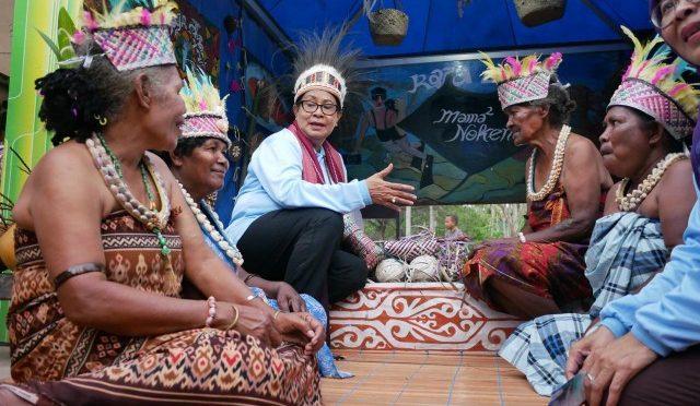 Dua Pesan Menteri PPPA untuk Daerah Wisata Raja Ampat di Papua Barat