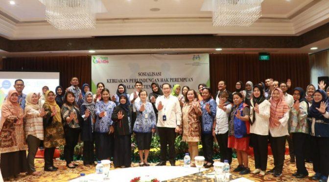 Upaya Kementerian PPPA Lindungi Hak Pekerja Perempuan