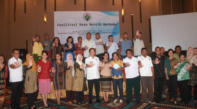 Kementerian Desa Fasilitasi Desa Bersih Narkoba di Provinsi NTT