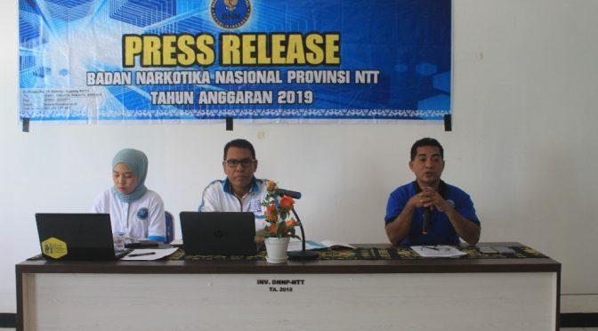 Enam Kendala & Hambatan Pelaksanaan P4GN oleh BNN Provinsi NTT