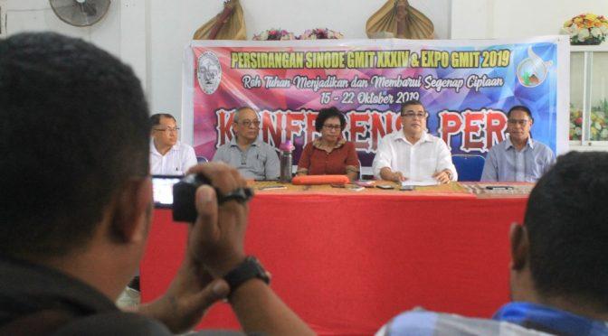 Sidang Sinode GMIT Ke-34 Utamakan Konsep 'Paperless & Plasticless'