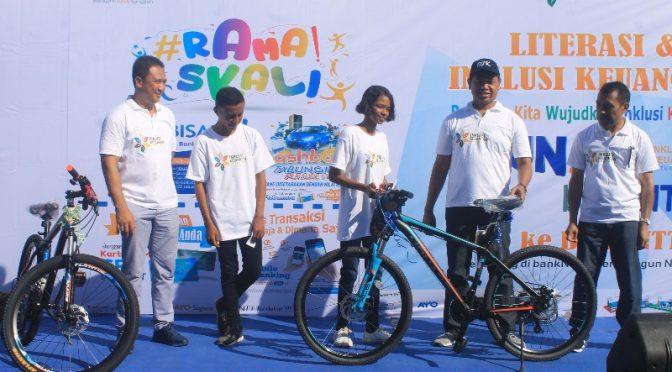 'Fun Walk Bank NTT' Sarana Edukasi Literasi dan Inklusi Keuangan bagi Pelajar
