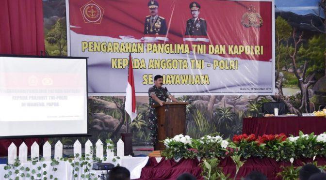 Panglima TNI Tegaskan Sinergitas TNI-Polri Hingga Akhir Hayat