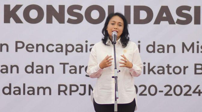 Menteri Bintang Puspayoga Soroti 5 Isu Prioritas Perempuan dan Anak