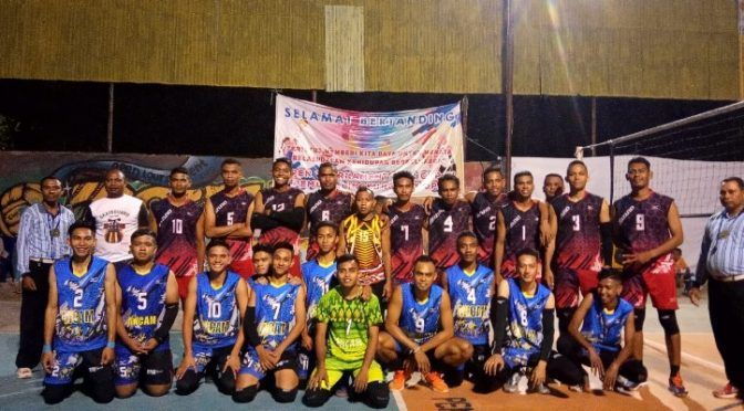 Tim Bank NTT vs Rivi Sport Bakal Berduel di Final 'Open Tournament Volly JPO'