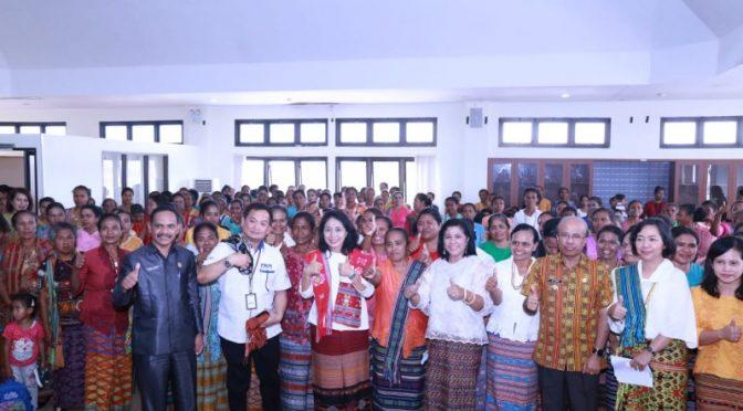 Sekolah Perempuan Bifemeto di TTS, Wujud Sinergi Pemberdayaan Perempuan