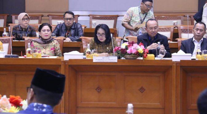 Menteri PPPA dan DPR RI Sepakat RUU PKS Segera Disahkan