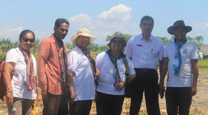 Ilmuwan HITPI Apresiasi Tata Kelola Lahan Kering oleh Kelompok Tani Kaifo Ingu