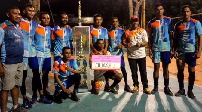 Bank NTT Juara 'Open Tournamen Volly JPO', Exodus Penkase Kalahkan Teratai