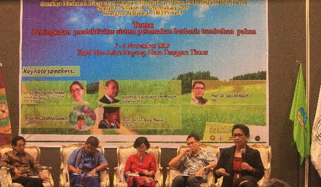 HUT ke-56, Fapet Undana Helat Join Seminar Nasional dan Kongres HITPI