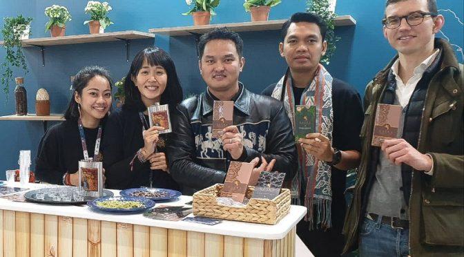 Coklat Gaura, Sopia & Teh Kelor Dikenalkan  di World Travel Market London