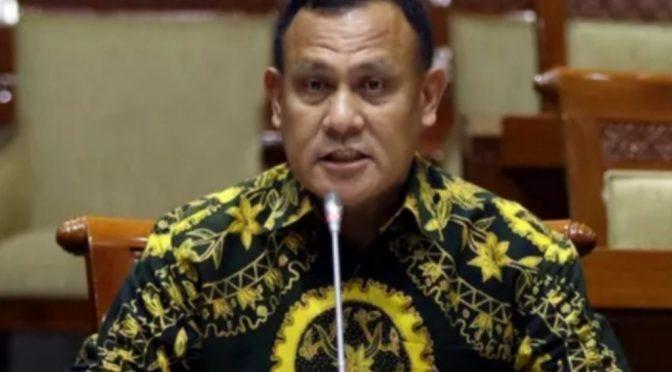 Kilas Balik Ketua KPK Komisaris Jenderal Polisi Firli Bahuri
