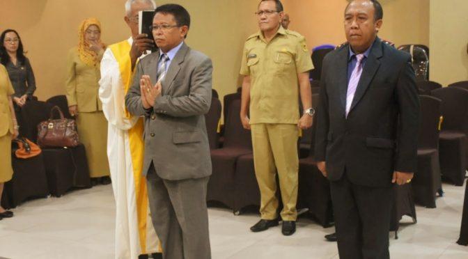 Wali Kota Kupang Kukuhkan dr. Ari Wijana Jadi Kepala Bapenda Kota Kupang