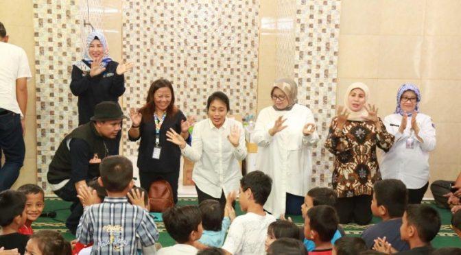 Menteri PPPA Apresiasi Penanganan Korban Bencana Anak, Perempuan & Lansia