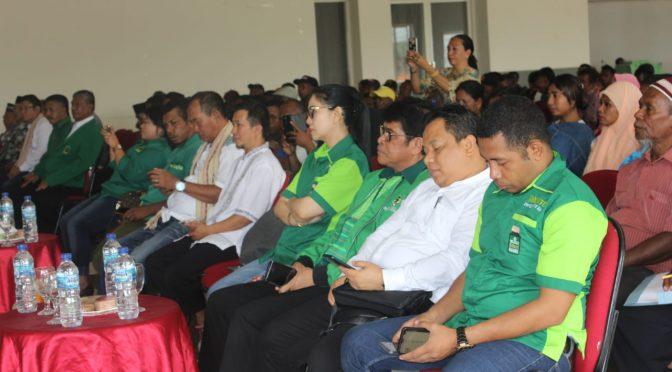 Pilkada Belu 2020, DPW PPP NTT Siap Bawa Rekomendasi DPC ke DPP