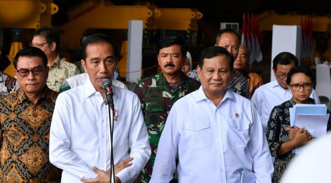Presiden Jokowi Pantau Progres Penanganan Virus Corona