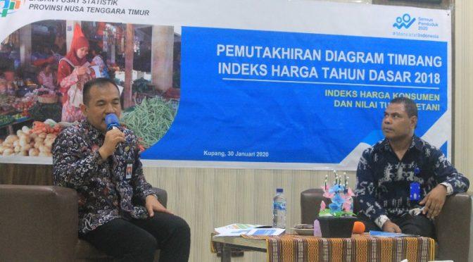 BPS Lakukan Pemutakhiran Tahun Dasar Perhitungan IHK & Nilai Tukar Petani