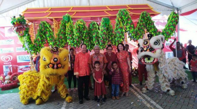 Tahun Baru Imlek, Wawali Herman : Warga Tionghoa Kota Kupang Punya Kontribusi