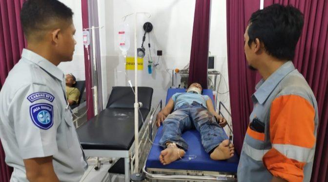 Reaksi Cepat Jasa Raharja Beri Santunan bagi Korban Lakalantas di Bolok Kupang