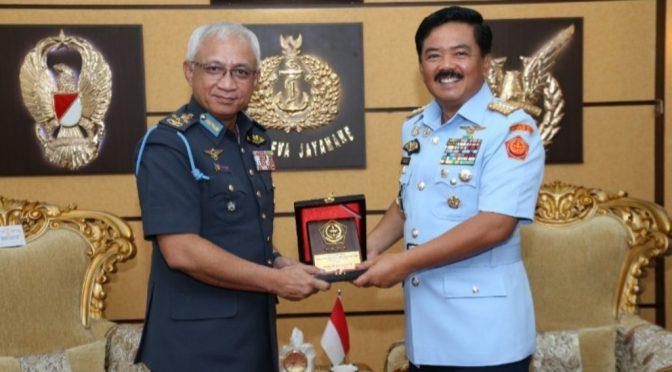 Panglima TNI Terima Kunjungan Kehormatan Panglima Tentara Malaysia