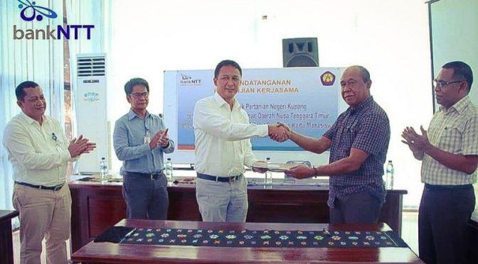 'Co-Branding' Bank NTT & Politani Kupang Hasilkan Kartu Mahasiswa Plus Kartu ATM