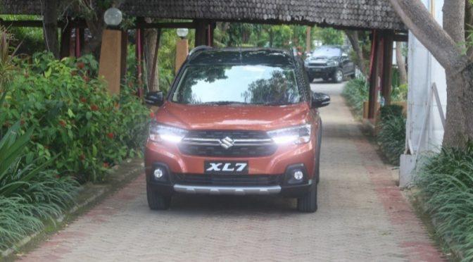 'Media Test Drive', Kuli Tinta Rasakan Sensasi Berkendara SUV Suzuki XL7